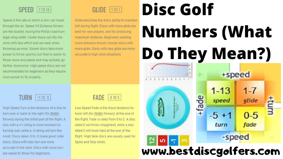 Disc Golf Numbers (What do they mean?)