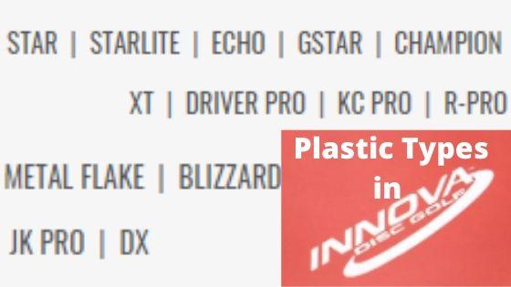 Plastic Types in Innova