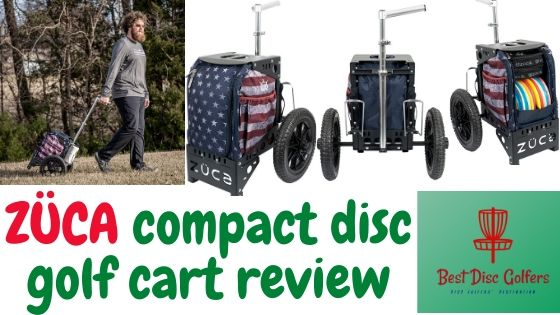 zuca compact disc golf cart review