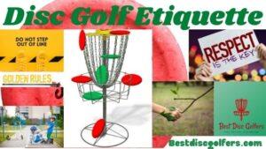disc golf etiquette