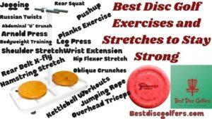 disc golf exercises