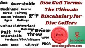 disc golf terms